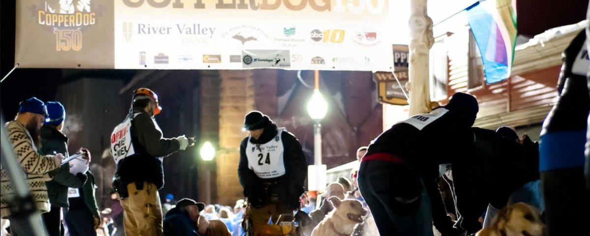 CopperDog 150 verseny cikk a Kutyafogat túra Mátrafüred oldalán.